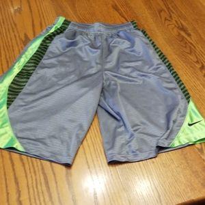 Nike boys athletic shorts youth XL
